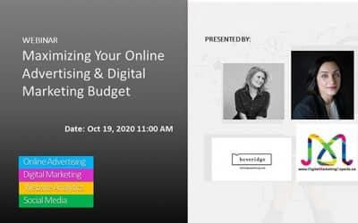 Maximizing Your Online Advertising & Digital Marketing Budget